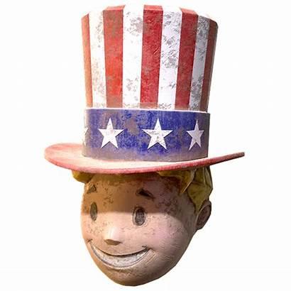 Boy Fallout Mask Vault Patriotic Vaultboy Head