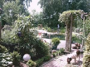 Teich Im Garten : rosenbogen gartenteich ~ Lizthompson.info Haus und Dekorationen