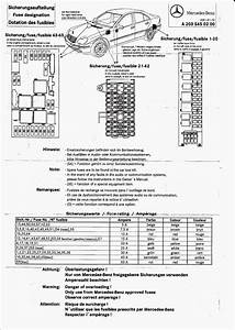 2002 Mercedes Benz S500 Fuse Box Diagram