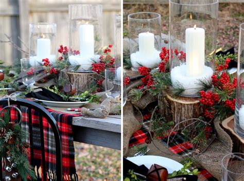 holiday table settings ellen kurtz interiors st louis