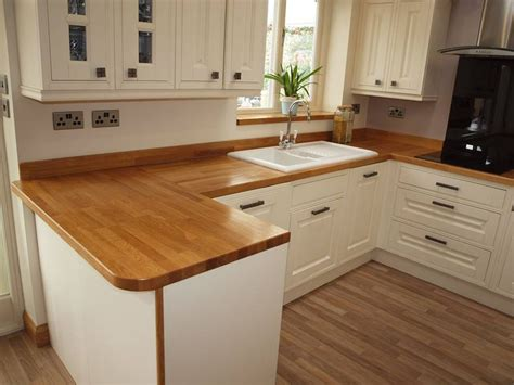 wooden work surfaces feature    customer kitchens