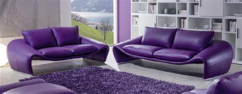 canapé cuir violet canapé design contemporain modèle 1746 chateau d 39 ax