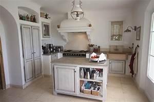 meuble cuisine campagne meuble cuisine campagne pas cher With exemple de decoration de jardin 14 couleur cuisine la cuisine blanche de style contemporain