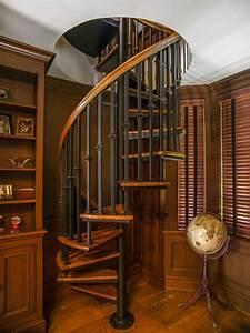 30, Wooden, Spiral, Staircase, Design, Ideas