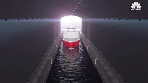 norway  build worlds  ship tunnel nbc news