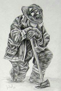 pin  staci lyons  firefighter paintings firefighter