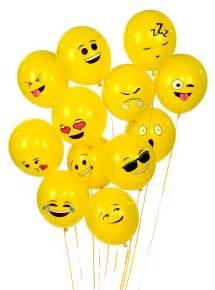 Birthday Smiley-Face Emoji
