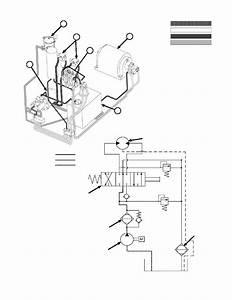 Winch Hydraulic Schematic