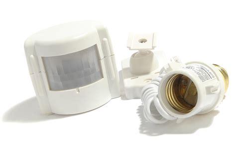 best outdoor motion sensor light bulb adapter