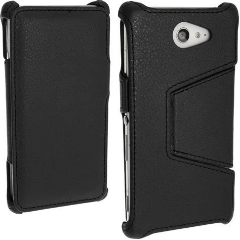 housse pour sony xperia cuir pu etui housse flip pour sony xperia m2 d2303 support coque cover ebay