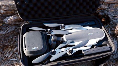 gopro karma drone hands  review   hero black camera youtube