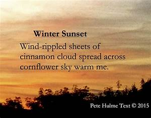 Winter Sunset |... Winter Sunsets Quotes