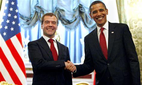 President Barack Obama Russian Dmitry
