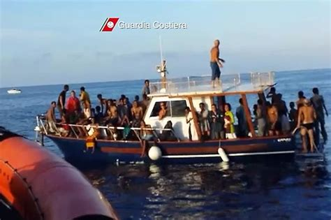 African Soul Boat Party by Libyan And Eritrean Human Traffickers Forced Migrants To