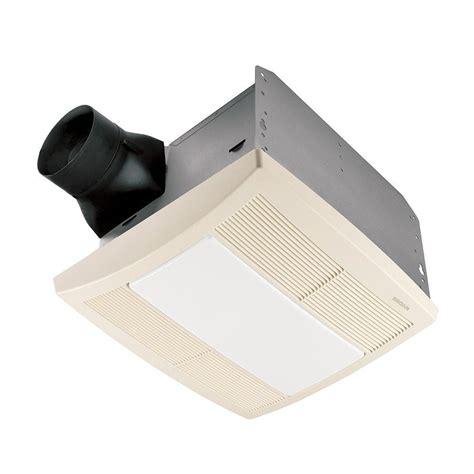 shower exhaust fan with light broan qtr series quiet 110 cfm ceiling exhaust bath fan