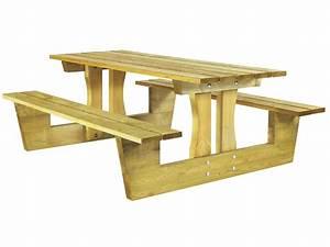 Table Bois Pique Nique : tables pique nique bois archives ~ Melissatoandfro.com Idées de Décoration