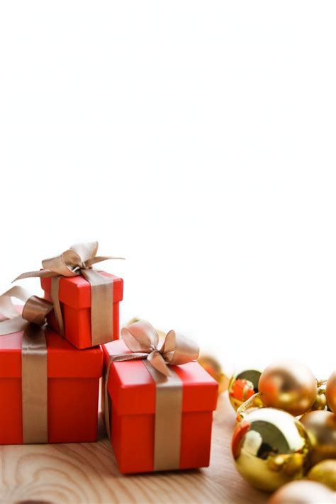 yellow soft christmas gift gifts and yellow balls photo free