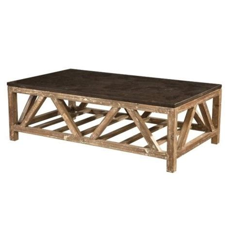 Reclaimed wood coffee tables are no exception. Reclaimed Fir Wood & Bluestone Top Farmhouse Coffee Table | Coffee table farmhouse, Coffee table ...