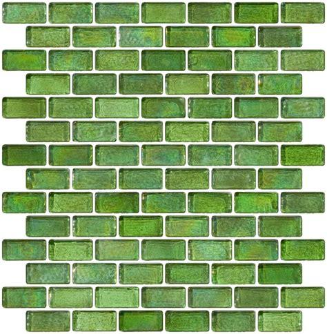 subway tile bathroom designs glass tile 3 4 x 1 1 2 inch green iridescent glass