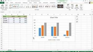 Excel 2013 - Diagramme  Charts  - Neu In Office 2013