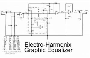 Latest Electro Harmonix Graphic Equalizer Circuit Schematic With Explanation   Schematics