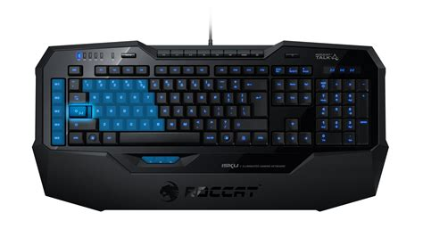 press release roccat isku illuminated gaming keyboard