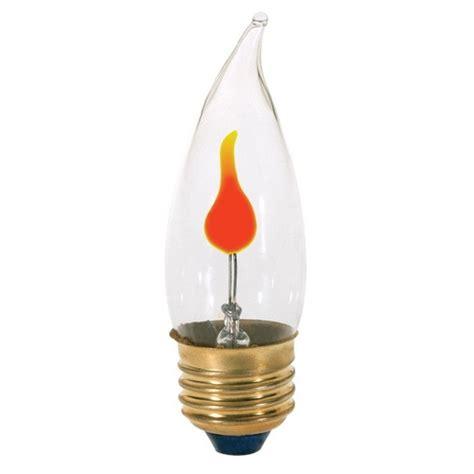 flickering light bulb flicker medium base light bulb 3 watt s3657