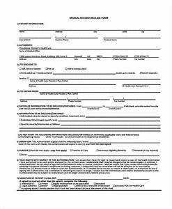 Standard Authorization Form Free 26 Medical Release Form Templates In Pdf Ms Word
