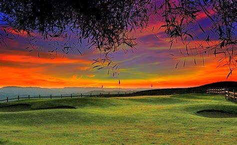 beautiful golf course wallpaper wallpapersafari
