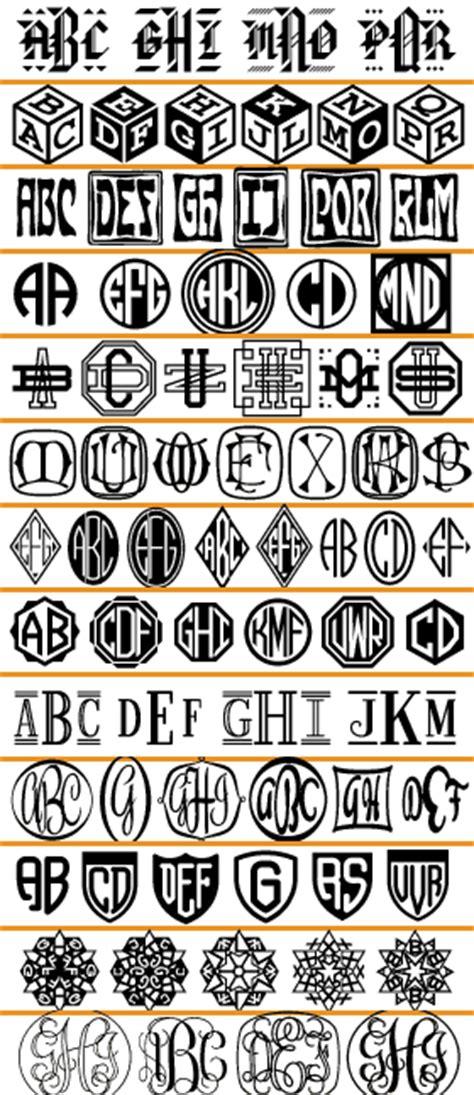 monogram fonts font  talk fontscom