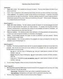 25+ Essay Outline Templates  Pdf, Doc  Free & Premium