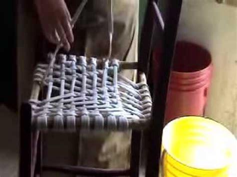 technique de la chaise tressage en babiche