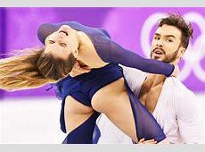 Winter Olympics nip slip dancer Gabriella Papadakis