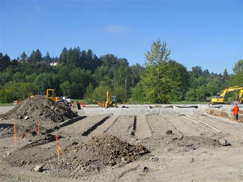 Construction Lot washington stormwater center