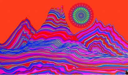 Psychedelic Trippy Illustration Google Animation Gifs Animated