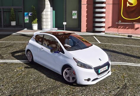 Peugeot 208 Modification by Gta 5 Peugeot 208 Add On Mod Gtainside