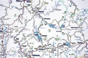Western NC Map North Carolina