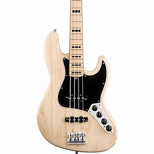 Fender American Deluxe Jazz Bass Natural Maple Fretboard