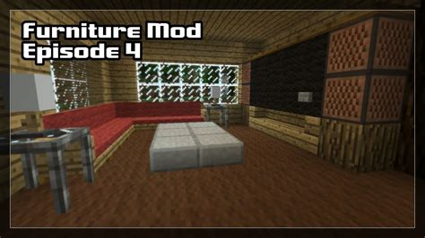 minecraft small living room ideas minecraft living room minecraft with mods 4