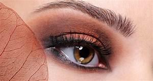 Maquillage Pour Yeux Marron : maquiller ses yeux marrons ~ Carolinahurricanesstore.com Idées de Décoration