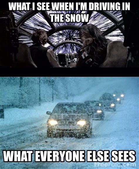 Driving In Snow Meme - driving in the snow funny pinterest
