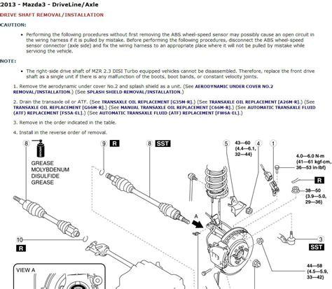 Deere 750c Wiring Diagram by 2010 2012 Mazda3 Mazdaspeed3 Service Repair Manual Cd