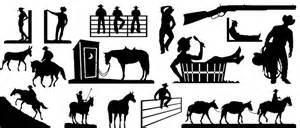 Cowboy Bathroom Ideas Iron Shadows Way Out West Designs For Cnc