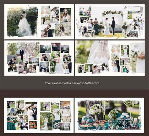 wedding album design template   psd indesign