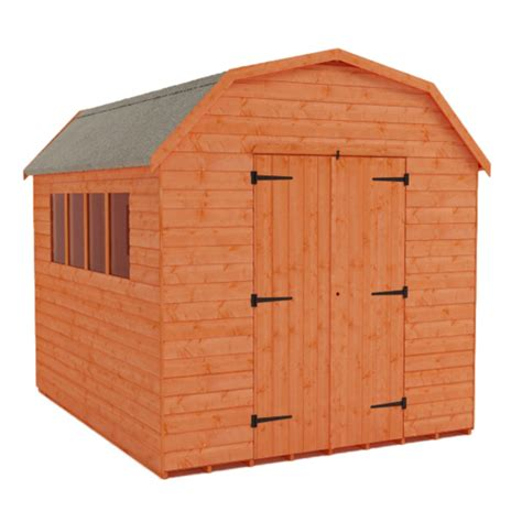 Lifetime 10x8 Plastic Shed by Garden Barns Mini Barn Shed