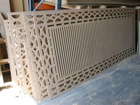 cnc routing decorative panels  shapes painel de