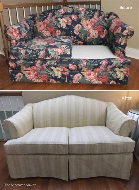 slipcovers for sofas and loveseats striped slipcovers the slipcover maker