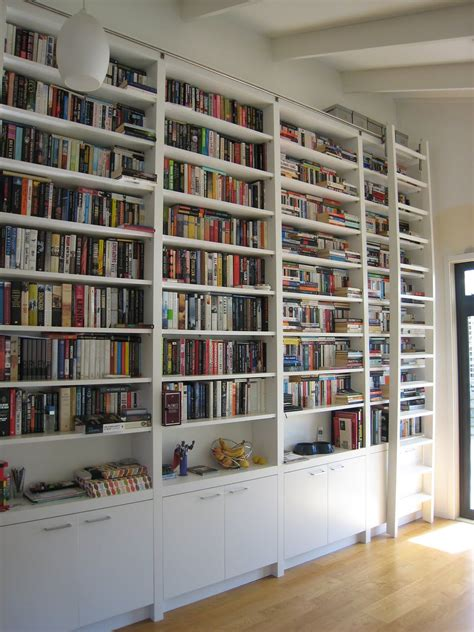 Large White Bookshelf by Library Ladder Ikea And Bookcase Wall Unit For Your