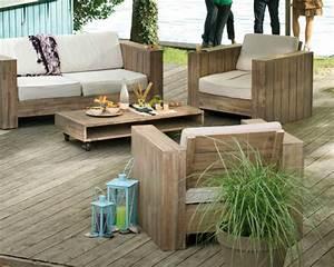 Balkon Lounge Möbel : lounge m bel holz outdoor ~ Whattoseeinmadrid.com Haus und Dekorationen