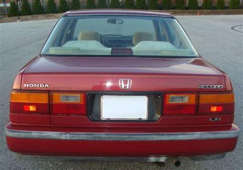 auto body repair training 1989 honda accord electronic throttle control buy used rare 1989 honda accord lxi sedan 4 door 2 0l automatic low miles in auburn maine